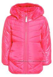 Зимняя куртка Name It девочка, розовая 7-8 лет