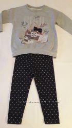 Комплект Mayoral свитшот и лосины 2 года, 92 см. для девочки.