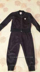 Велюровый костюм Chicco для девочки 2 года, 92 см.