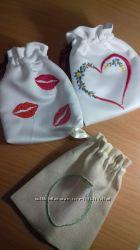 подарочные мешочки вышивка