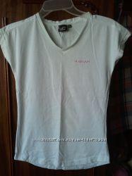 Белая футболка 10-12 лет
