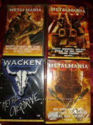 Metalmania и wacken DVD лицензия