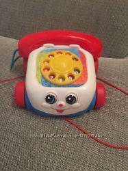 Телефон - каталка  Fisher price Фишер Прайс