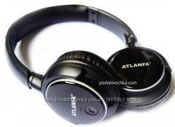 Наушники беспроводные Atlanfa Monster AT - 7612 с Bluetooth, MP3 плеером и