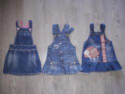 Разные платья и сарафаны на малышку