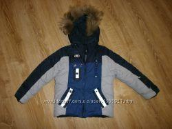 Зимняя куртка на мальчика 116 см