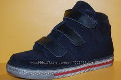 Подростковые детские демисезонные ботинки ТМ Bistfor Код79032 размеры 29-31