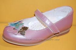 Детские кожаные туфли ТМ Bistfor код 79754р размеры 25-30