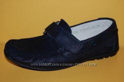 Детские туфли нубук ТМ Bistfor код 79603 размеры 26-35