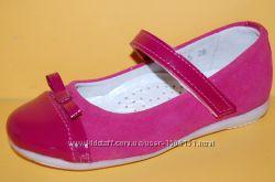 Детские кожаные туфли ТМ Bistfor код 79743 размеры 25-32