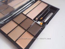 Набор для бровей malva cosmetics brow artistry palette