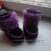 пинетки-сапожки для малыша или малышки