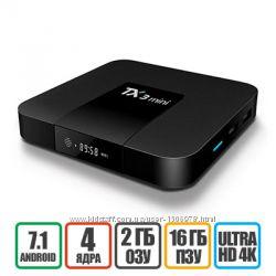 TANIX TX3 Mini 2-16GB S905W - ТВ Бокс, Гарантия, Бесплатная Доставка