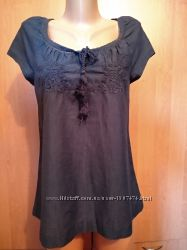 Тончайшая хлопковая блузка, Индия ПОГ 45 см.