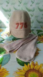 Продам Детская одежда. Для мальчика. Флисовая шапка с шарфом