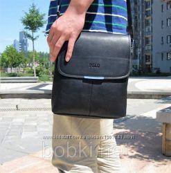 Стильная мужская сумка POLO, смотрите видеообзор