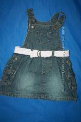 Джинсовые летние платья , сарафанчики р808692 в отличном состоянии