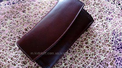 Женский кожаний кошелек, гаманець