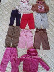 Вещи речі пакетом штаны кофта брюки костюм, 1, 5-2 роки