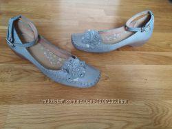 Кожаные шкіряні туфлі туфли, Clarks. Uk6 eur39 25, 5см
