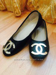 Продам туфли балетки CHANEL