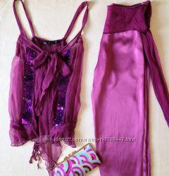 Женские Вечерний костюм Marc Jacobs шелк для вечеринок и празднико