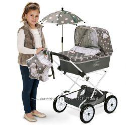 DeCuevas Коляска с рюкзаком и зонтиком Реборн серии Скай, 90 см 82024