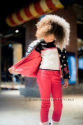 Джинсы-брюки для девочки H&M 5-6лет