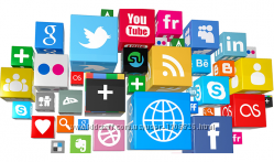 Продвижение Instagram, Twitter, YouTube, Facebook, Telegram