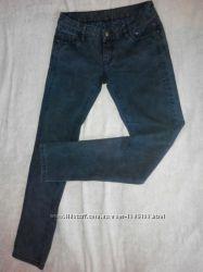 Женские джинсы скинни серые цвет графит узкие