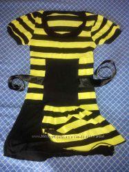 Новое женское короткое платье Турция 42-44р на девушку девочку в полосочку