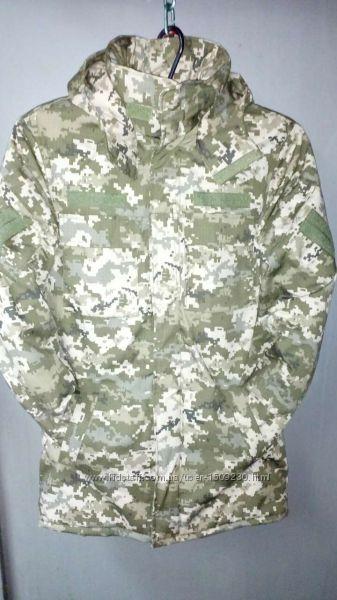 Костюмы зимние камуфляж с капюшоном для охоты и рыбалки, военных