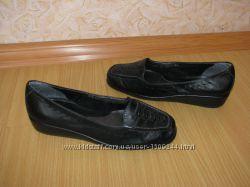 Footglove кожаные балетки в идеале 37р по вст 24 см