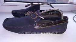 Burton мокасіни туфлі 42 р замша 28 см по ст в хорошому стані