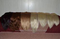Продам искуственные термо волосы на заколках.