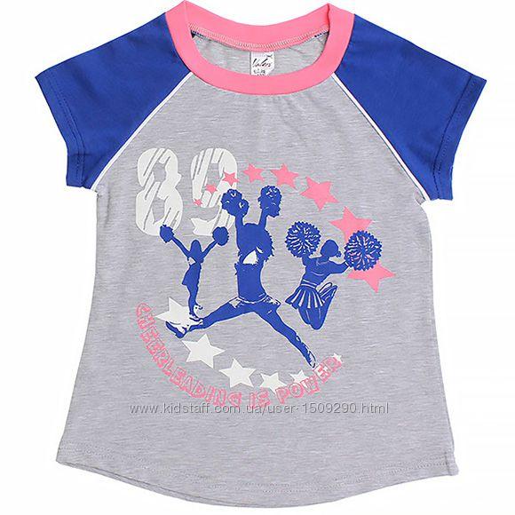 Футболка для девочки р. 122 ТМ ValeriTex