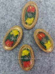 Пуговица декоративная стекло Чехия