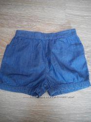Літні джинсові шорти для дівчинки Young Dimension, 24-36 міс.