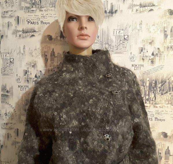 Куртка из валяной шерсти gotland двухсторонняя