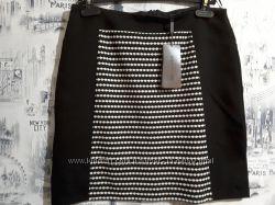 Вискозная юбка s. oliver , uk 10