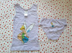 Комплект disney fairies с принтом сказочной феи динь- динь, 9298