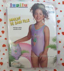 Супер купальник для девочки  Lupilu, 110-116, Германия 4-6 лет