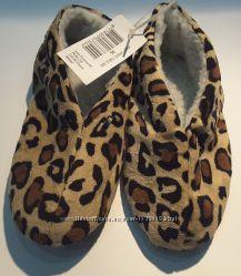 Леопардовые тапочки пинетки 36 размер, ferro footwear, нидерланды