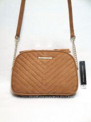 Новая сумка DOROTHY PERKINS, стеганая женская сумочка кросс-боди под замш