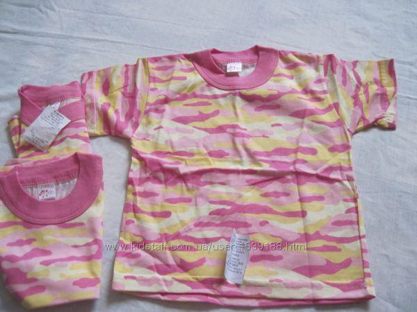 Новая футболка для девочек, р. 86