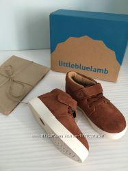 модные замшевые сникерсы Little blue lamb 27-30 размеры