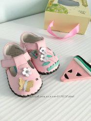 кожаные красивые туфельки Caroch, размер 11, 5 см и 12 см стелька