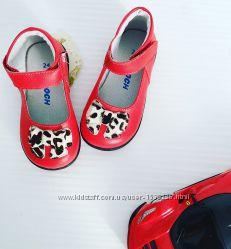 Скидка на кожаные туфельки Caroch, размеры 23, 24