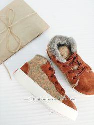 стильные утепленные кроссовки от Little blue lamb размеры 23, 24, 26, 29, 3