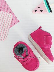 замшевые ботиночки от Little blue lamb, стелька 13 см и 14 см